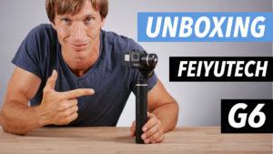 FEIYUTECH-G6-GIMBAL-UNBOXING-FRANCAIS